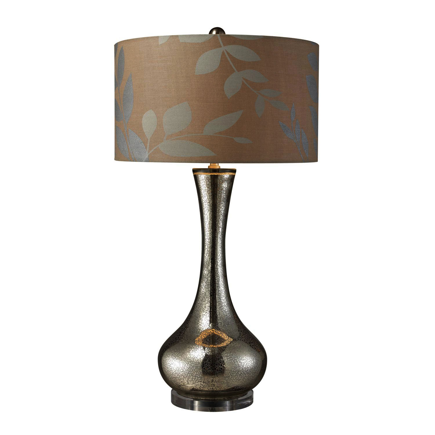 Elk Lighting D1883 Orion Table Lamp - Mercury Blown Glass