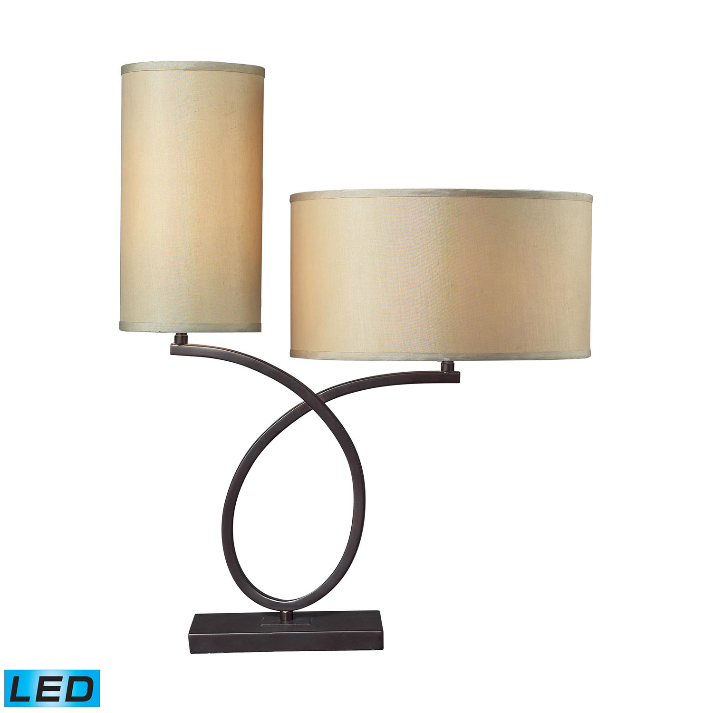 Elk Lighting D2002-LED Greenwich Table Lamp - Aged Bronze