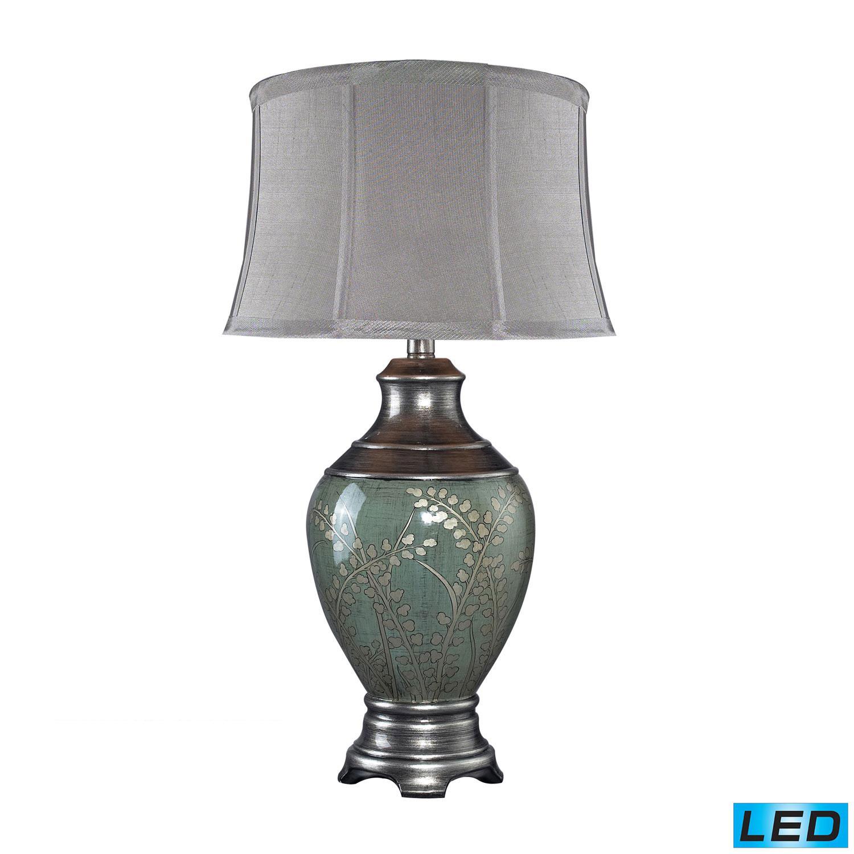 Elk Lighting D2056-LED Westvale Table Lamp - Pinery Green