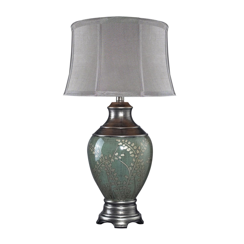 Elk Lighting D2056 Westvale Table Lamp - Pinery Green