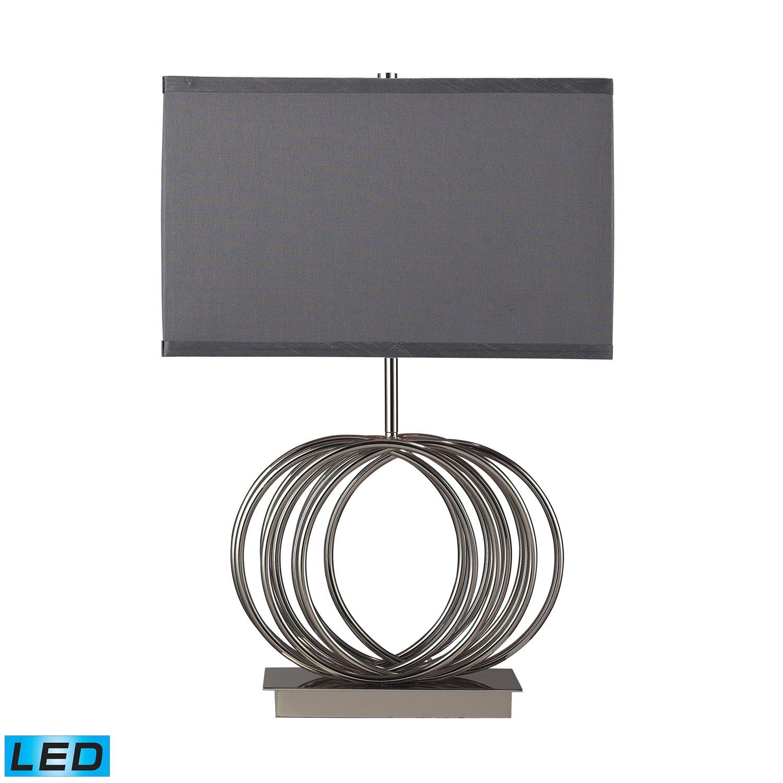 Elk Lighting D2057-LED Ekersall Table Lamp - Chrome