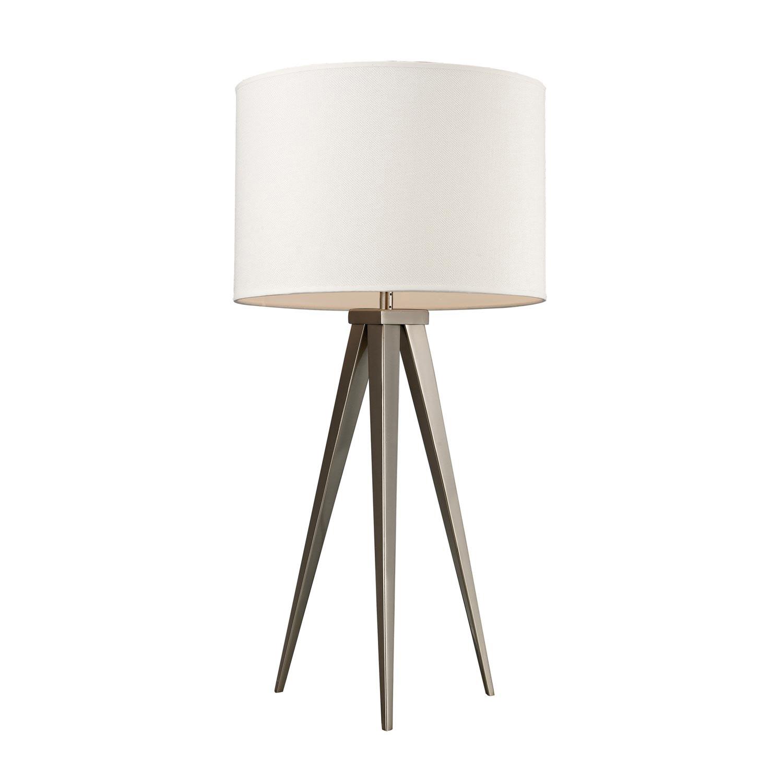 Elk Lighting D2122 Salford Table Lamp - Satin Nickel