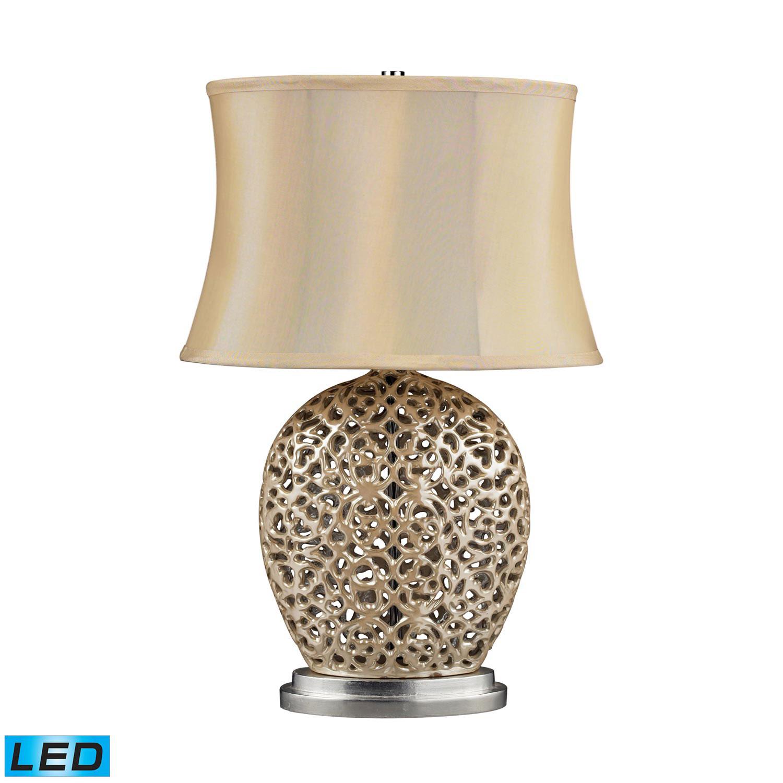 Elk Lighting D2168-LED Serene Table Lamp - Pearlescent Cream