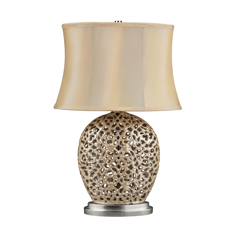 Elk Lighting D2168 Serene Table Lamp - Pearlescent Cream