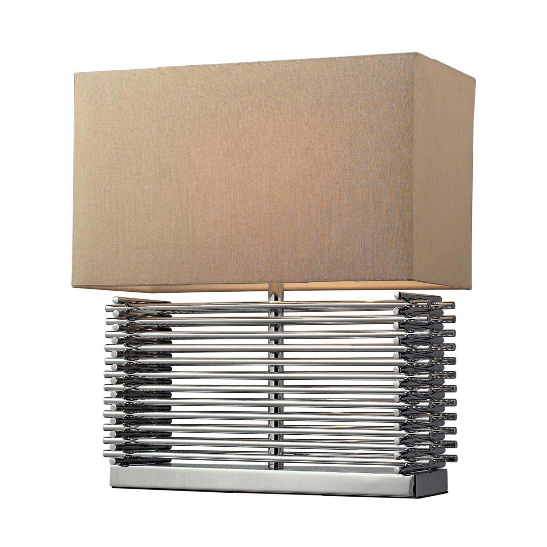 Elk Lighting D2205 Andros Table Lamp - Chrome