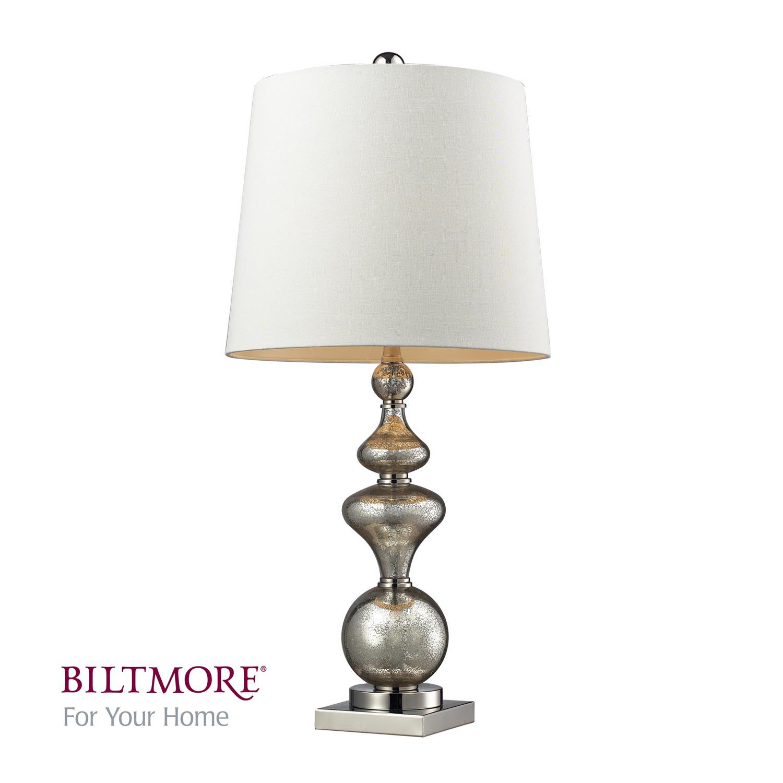 Elk Lighting D2255 Angelica Table Lamp - Antique Mercury Glass / Polished Nickle