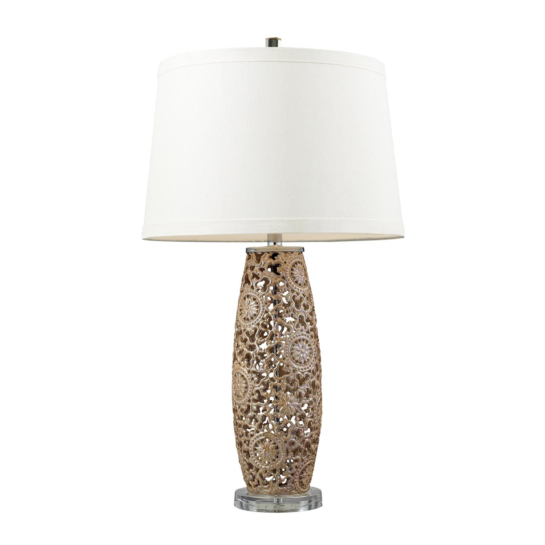 Elk Lighting D2261 Maria Table Lamp - Golden Pearl