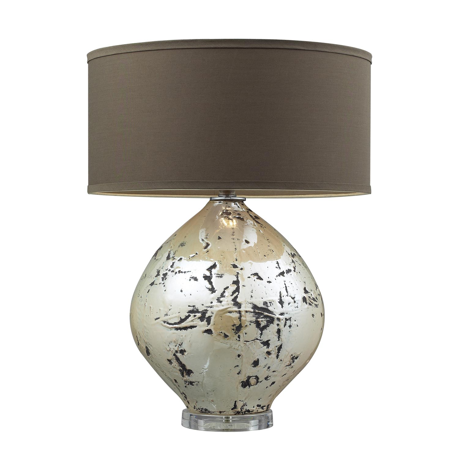 Elk Lighting D2262 Limerick Table Lamp - Turrit Gloss Beige