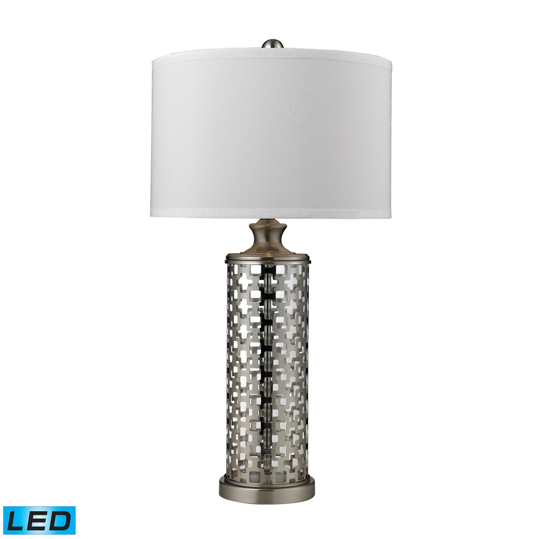 Elk Lighting D2313-LED Medford Table Lamp - Brushed Nickel