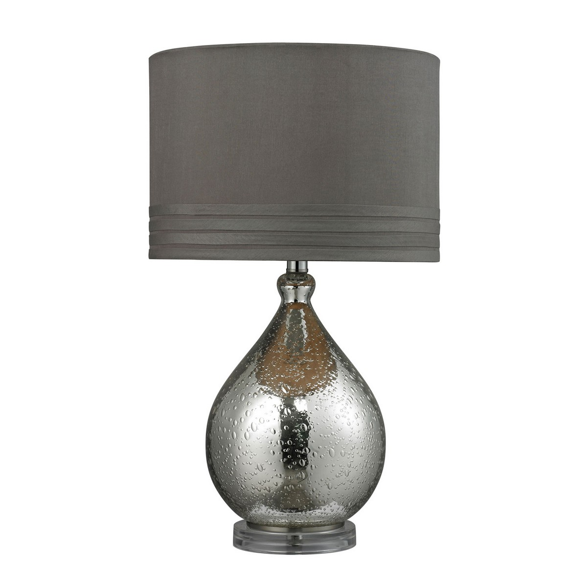 Elk Lighting D252 Table Lamp - Mercury Glass