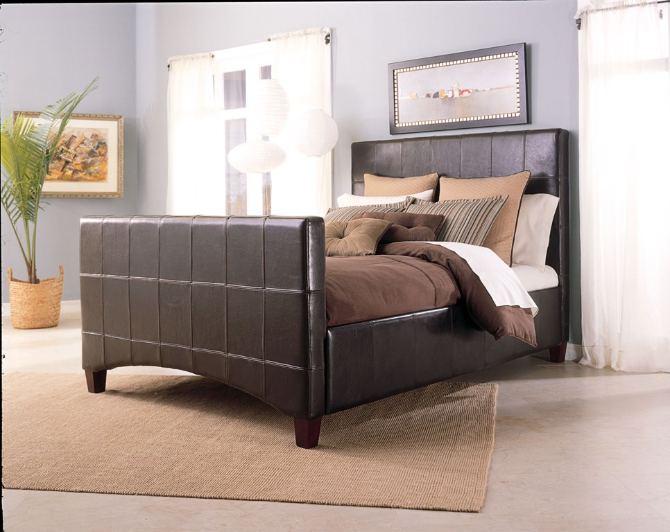 Fashion Bed Group Emerson Bed in Saddle