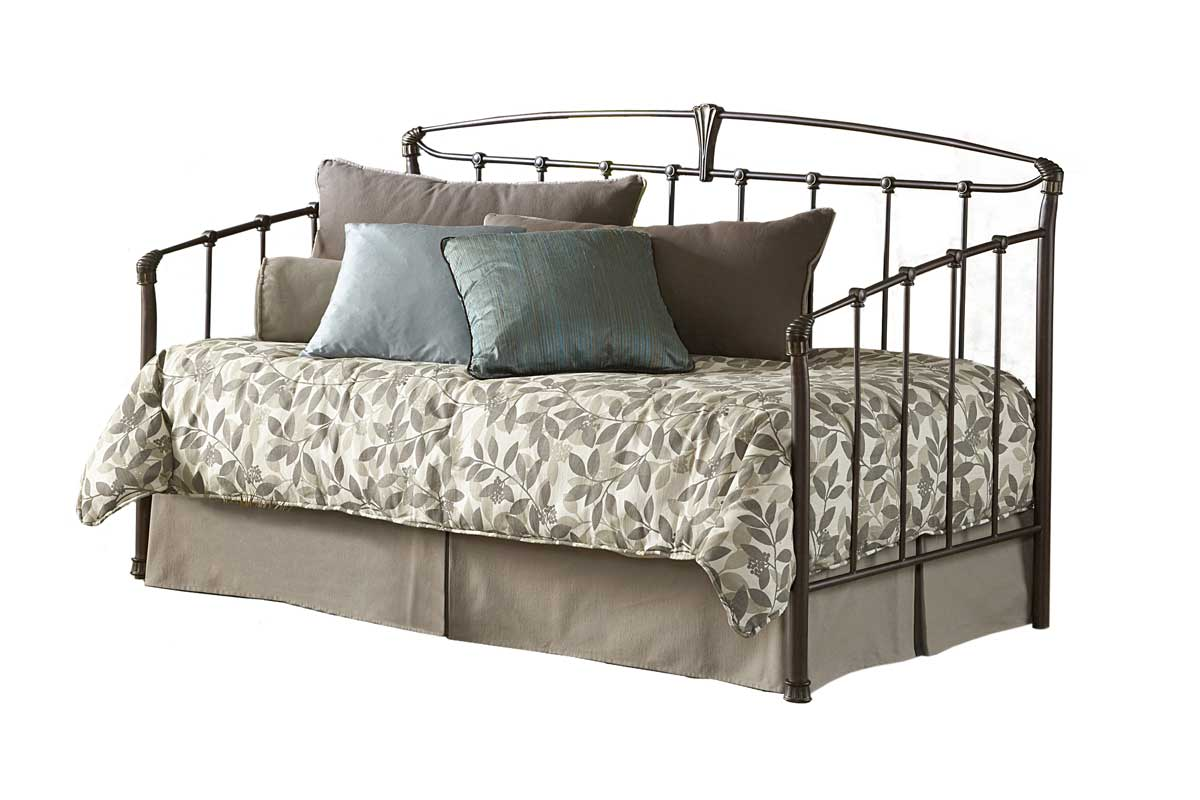 Cheap Fashion Bed Group Archer Daybed-Iced Bronze