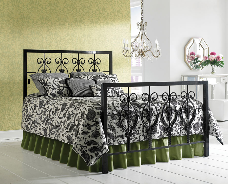 Fashion Bed Group Calypso Bed - Black