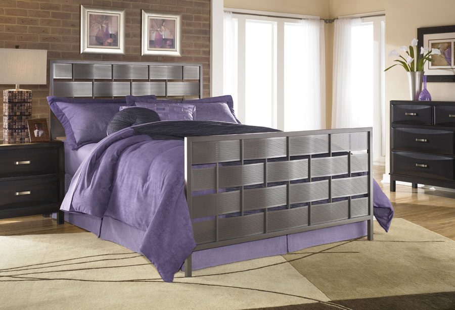 Fashion Bed Group Grid Bed