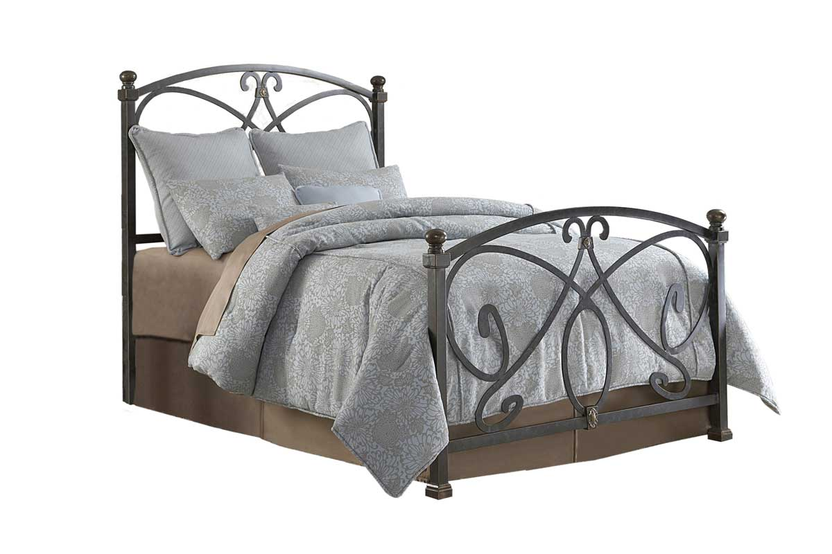 Fashion Bed Group Monarch Bed-Gilded Slate