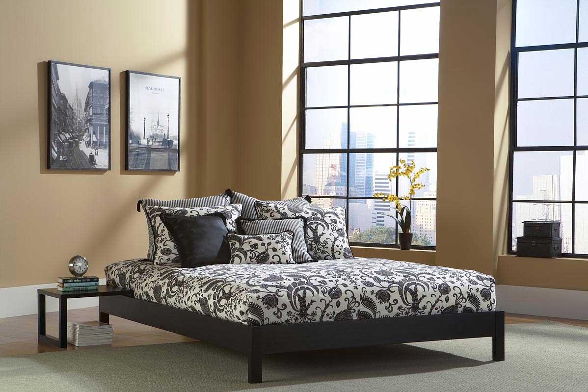Fashion Bed Group Murray Side Table-Mahogany