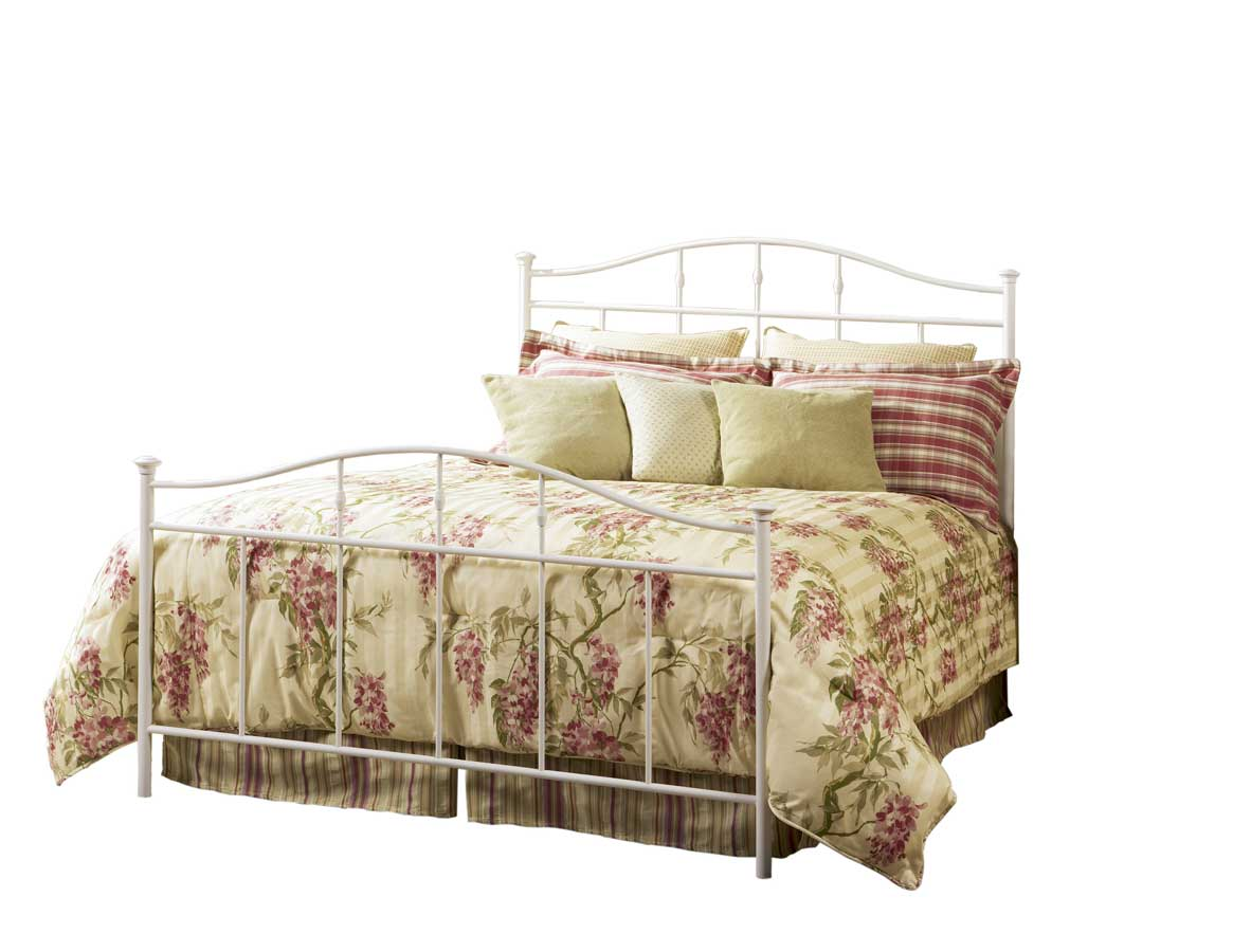 Fashion Bed Group Spalding Duo Bed-Vanilla