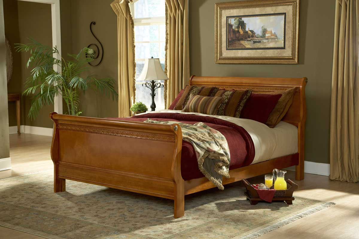 Fashion Bed Group Stapleton Bed-Mahogany
