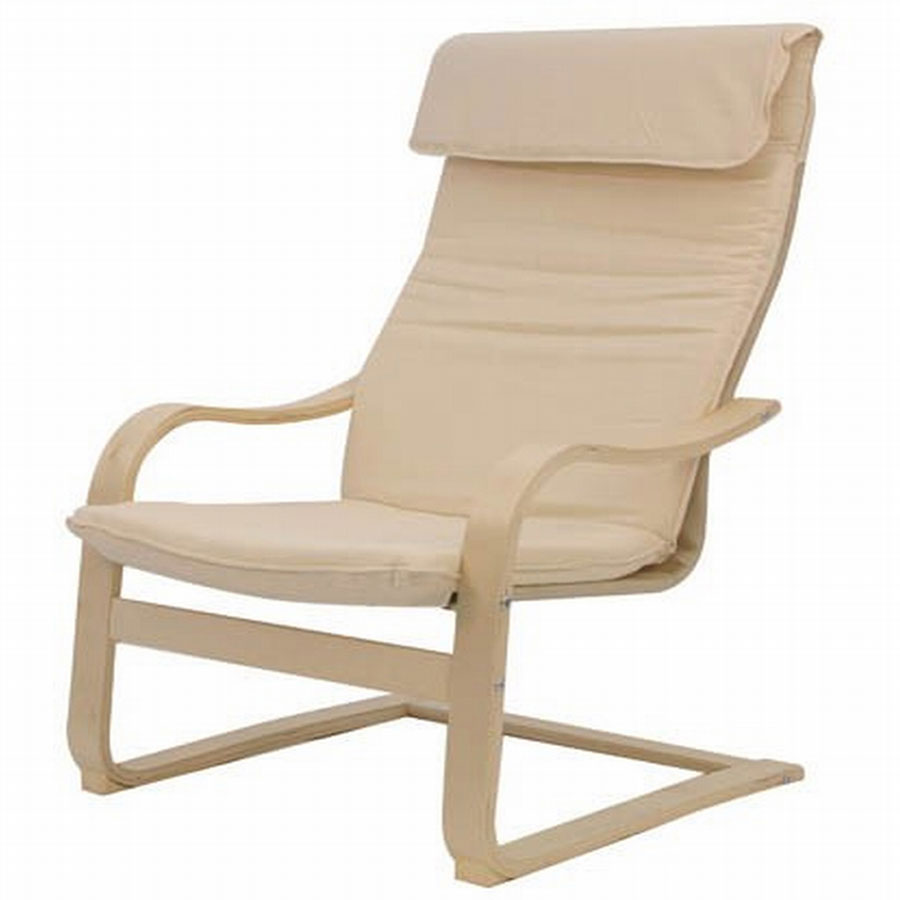 FY Lifestyle Bentwood Roman Chair - Ivory