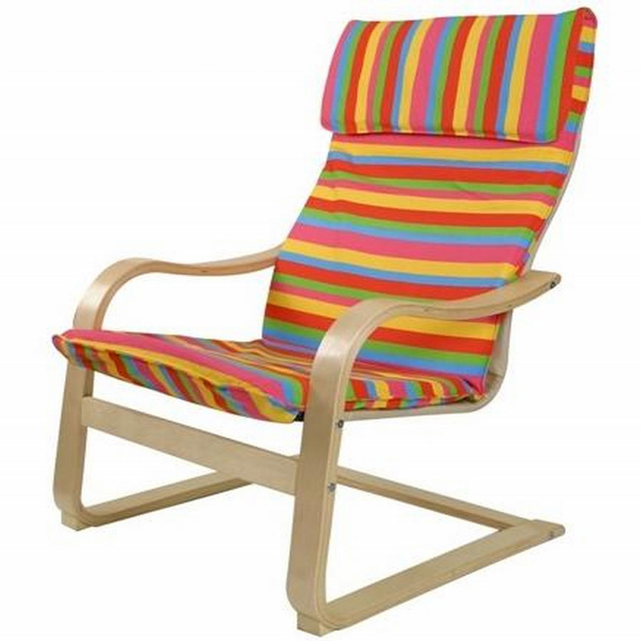 FY Lifestyle Bentwood Roman Chair - Rainbow