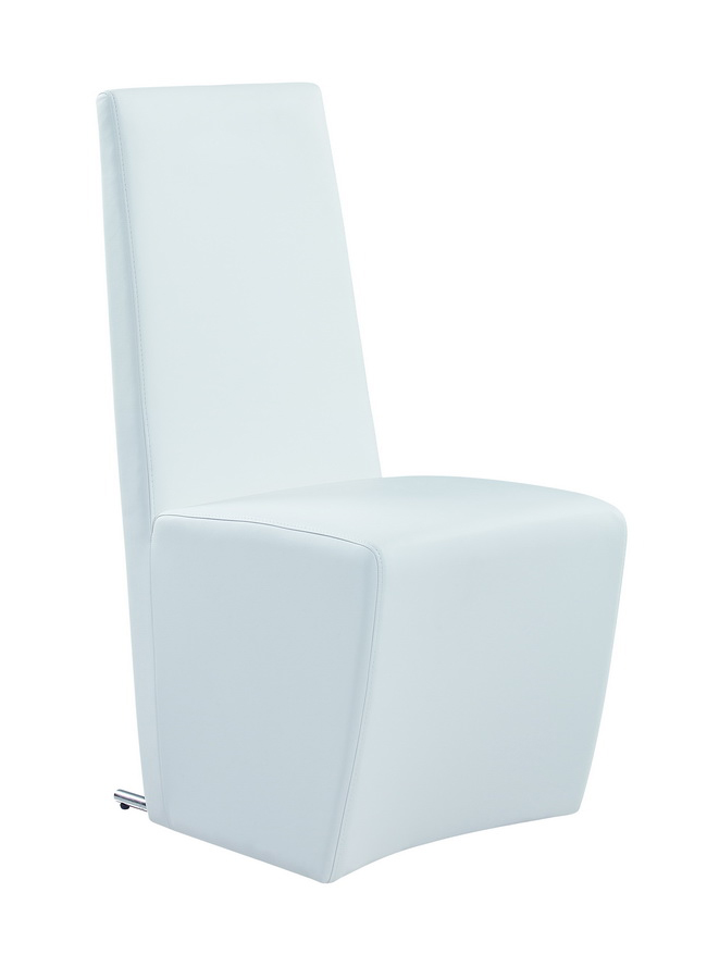 Global Furniture USA 105 Dining Chair - White