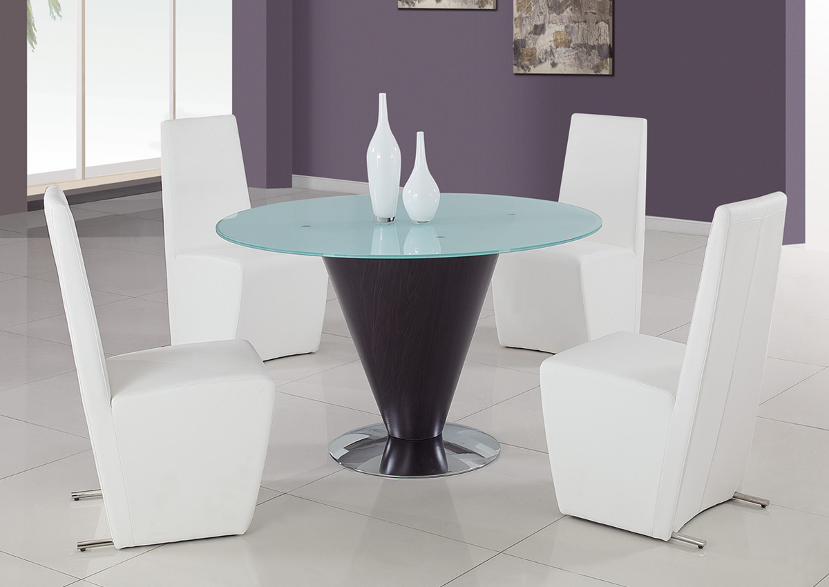 Global Furniture USA 105 Dining Set - White