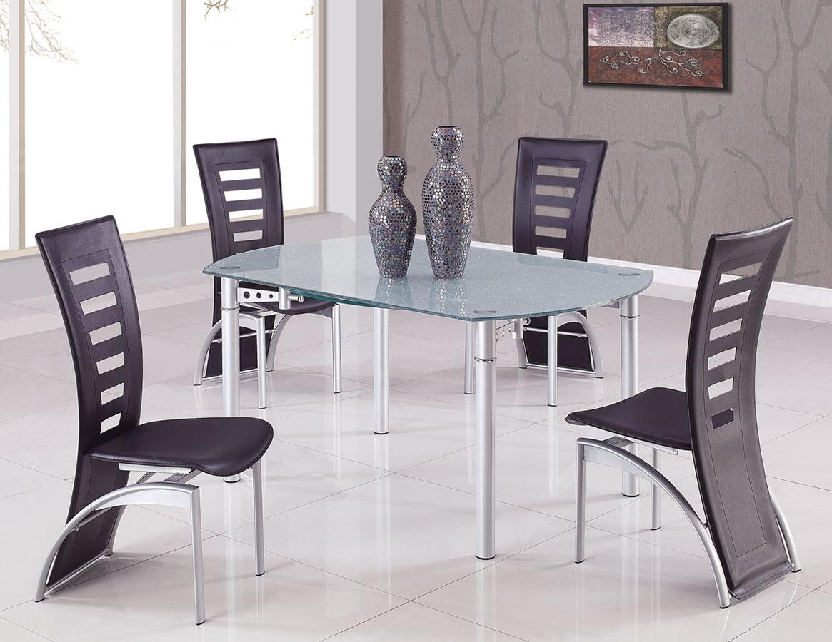 Global Furniture USA 135 Dining Set A - Black