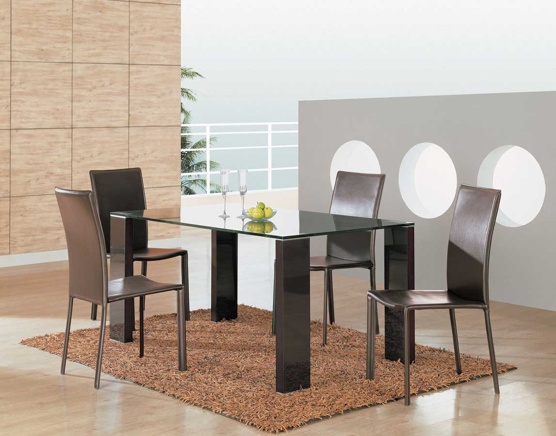 Global Furniture USA GF-205 Dining Set-Wenge