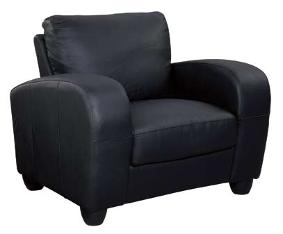 Global Furniture USA GF-399 Chair - Black Leather Match
