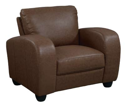 Global Furniture USA GF-399 Chair - Brown Leather Match