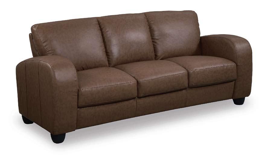 Photo Of Global Furniture USA GF 399 Sofa   Brown Leather Match (Living Room