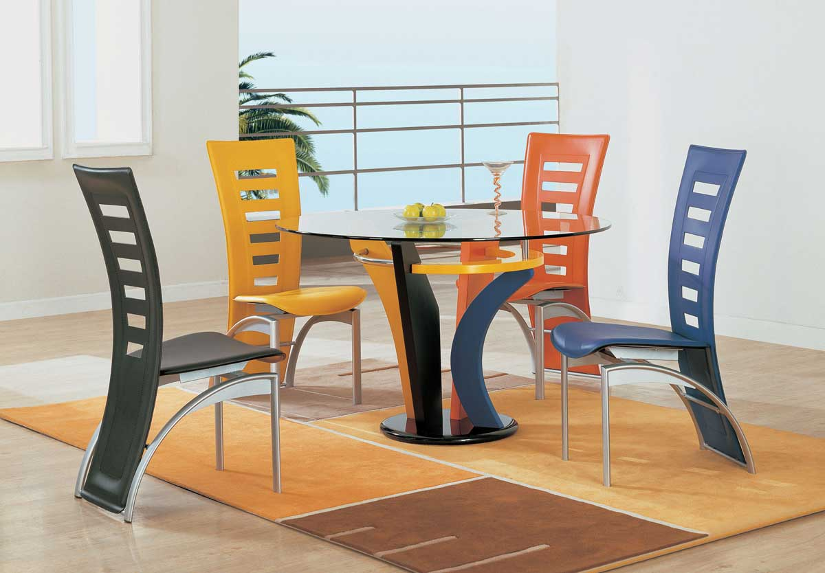 Global Furniture USA 5443 Dining Set - Multi Color