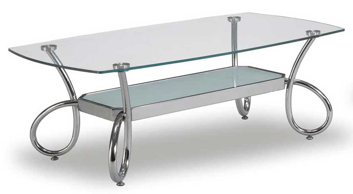 Global Furniture Usa 559 Coffee Table Chrome Gf T559c At Homelement