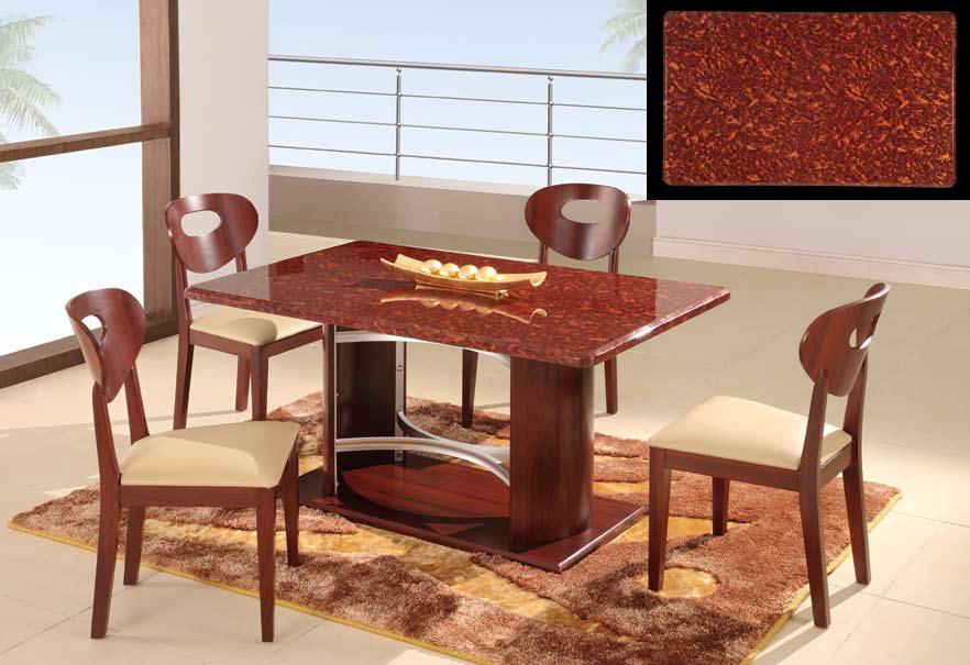 Global Furniture USA GF-6010 Dining Set - Mahogany