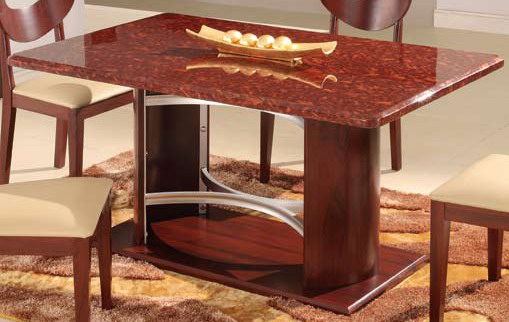 Photo of Global Furniture USA GF-6010 Dining Table - Mahogany (Dining Room Furniture, Dining Room Set, Dining Tables, Dining Room Tables)