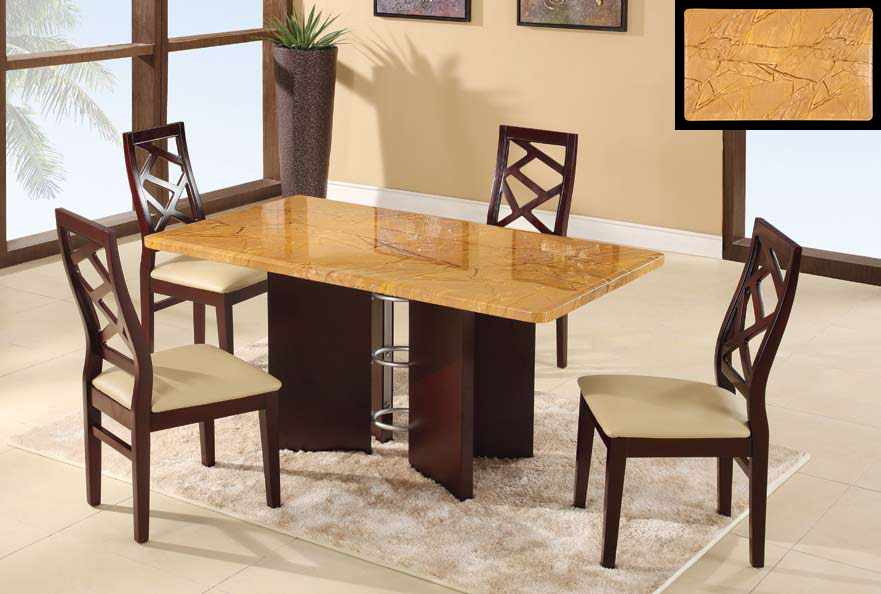 Global Furniture USA GF-6020 Dining Set - Beige