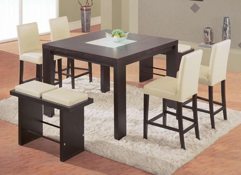 Global Furniture USA GF-67 Pub Dining Set - Beige