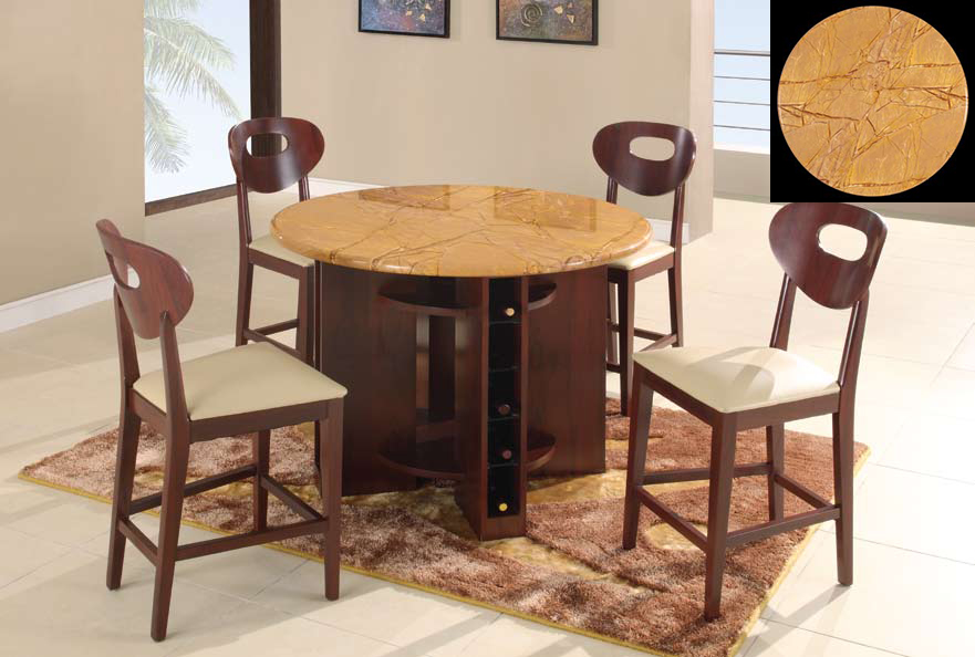 Global Furniture USA GF-7010 Pub Dining Set - Tan