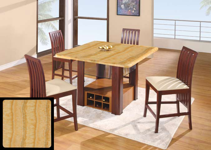 Global Furniture USA GF-7040 Dining Set - Beige