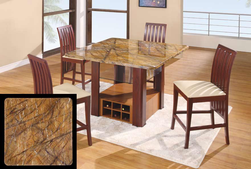 Global Furniture USA GF-7040 Dining Set - Tan