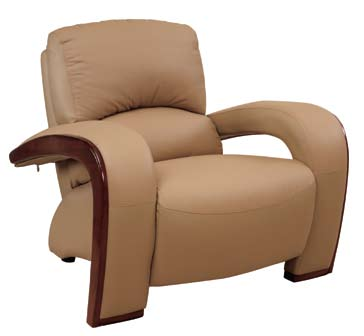 Global Furniture USA GF-705 Chair - Tan Leather Match