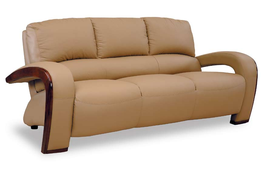 Buy global furniture usa gf 728 sofa cappuccino leather for Cheap modern furniture usa