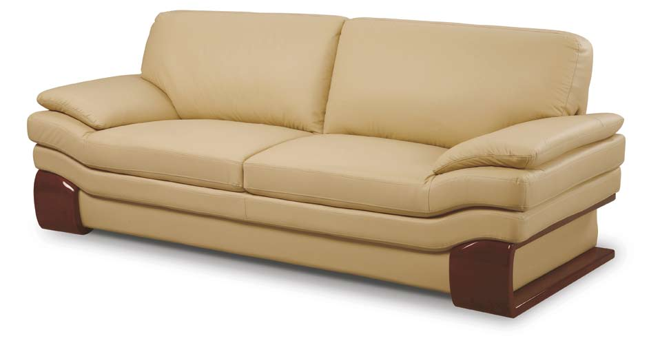 Buy global furniture usa gf 728 sofa cappuccino leather for Buy sofa online usa