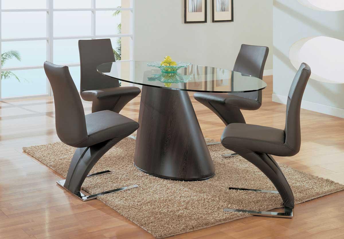 Global Furniture USA GF-798 Dining Set - Wenge