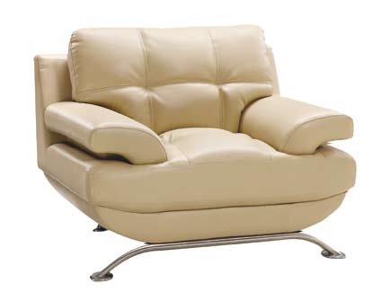 Global Furniture USA GF-9108 Chair - Cappuccino Leatherette