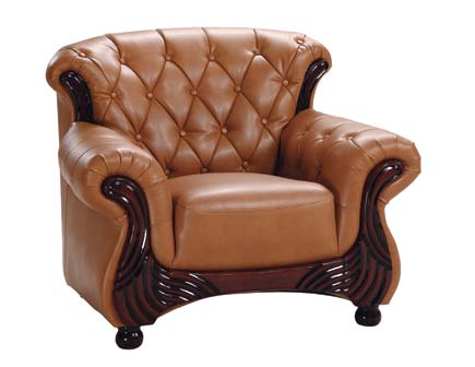 Cheap Global Furniture USA GF-9110 Chair – Brown Leatherette