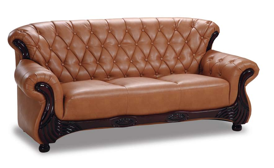 Global furniture usa gf 9215 sofa cappuccino leatherette for Buy sofa online usa