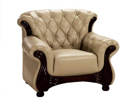 Photo of Global Furniture USA GF-9113 Chair - Capuccino Leather Match (Accent Furniture, Accent Chairs)