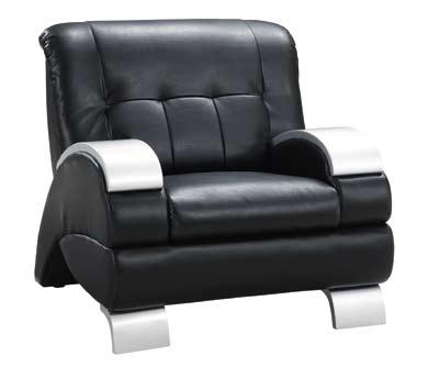 Global Furniture USA GF-9215 Chair - Black Leatherette