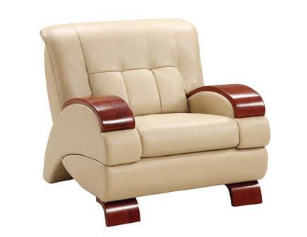 Global Furniture USA GF-9215 Chair - Cappuccino Leatherette